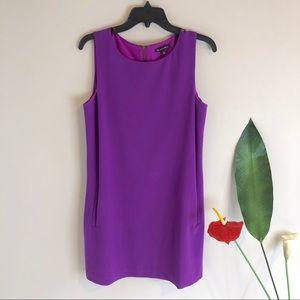 Purple MADEWELL Shift Dress   Broadway & Broome